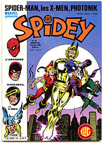 Couverture Spidey 25